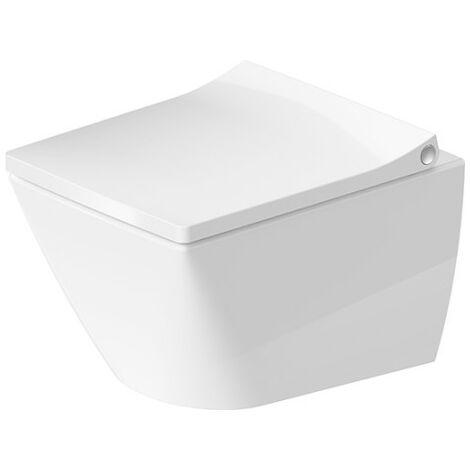 Duravit WC mural Compact Viu 251109, sans jante, 370x480 mm, Coloris: Blanc avec HygieneGlaze - 2573092000