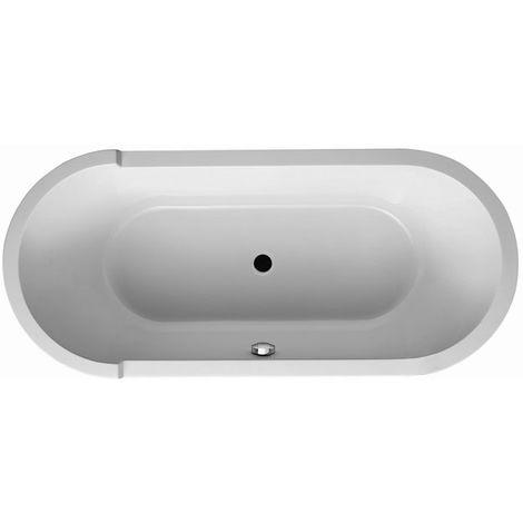 Duravit whirlpool oval Starck 1800x800mm, jet system - 760009000JS1000