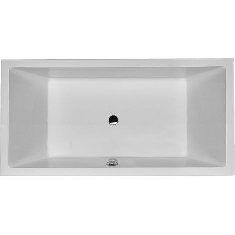 Duravit Whirlpool Starck 1800x900mm versione da incasso con due pendenze posteriori, Airsystem - 760052000AS0000