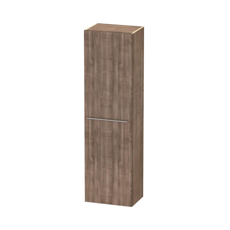 Duravit X-Grandes Armarios altos 1137, 1 puerta de madera, con bisagra a la izquierda, 500mm, Color frente/cuerpo: Cerezo del Tesino - XL1137L7373