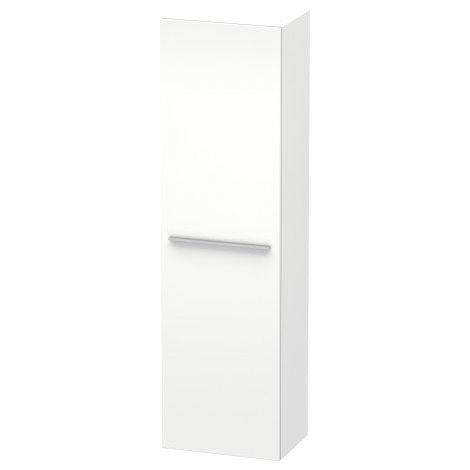 Duravit X-Grandes Armarios altos 1137, 1 puerta de madera, con bisagras a la derecha, 500mm, Color (frente/cuerpo): Flanela Gris seda lacado mate - XL1137R9090