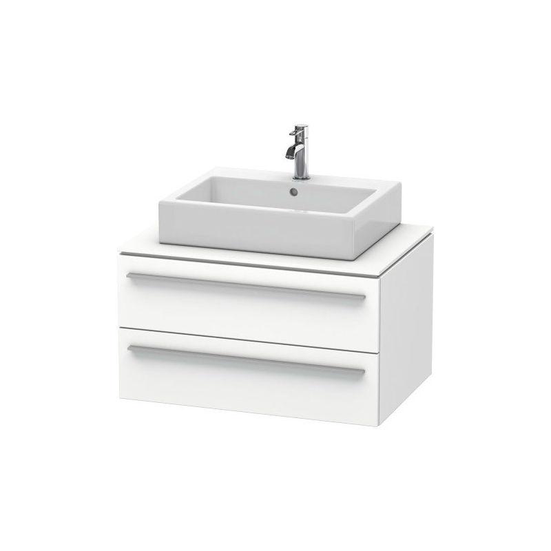 Duravit X-Large Mueble de pared para consola 6714, 2 cajones, 800mm, Color frente/cuerpo: Cerezo del Tesino - XL671407373 - DURAVIT AG