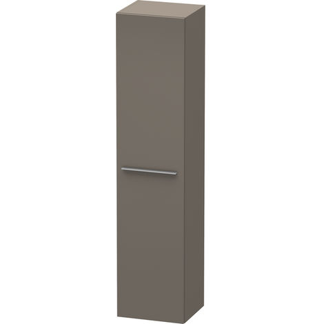 Duravit X-Large Tall cabinet 1136, 1 wooden door, hinged left, 400mm