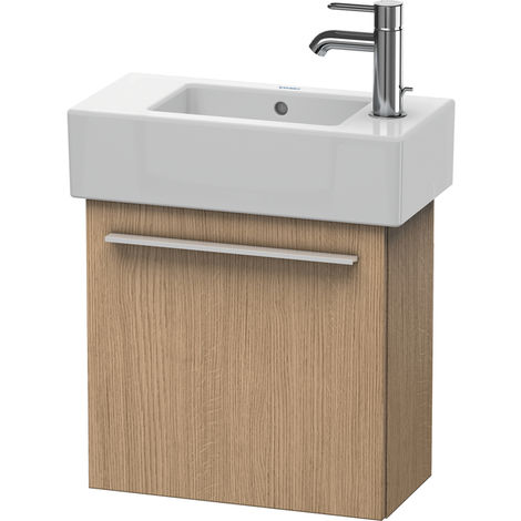 Duravit X-Large Vanity unit wall-mounted 6208, 1 wooden door, left-hinged, 450mm for Vero