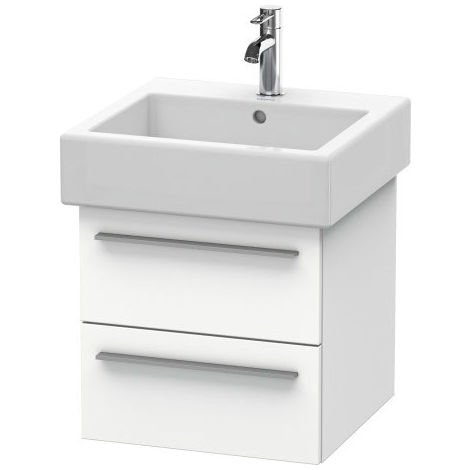 Duravit X-Large Vanity unit wall-mounted 6343, 2 drawers, 450mm for Vero