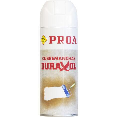 DURAXOL CUBREMANCHAS SPRAY, Blanco 0.4lts