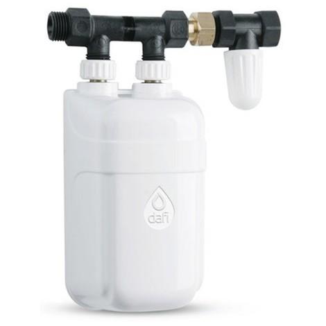 Warmwasser-Armatur mit eingebauten Durchlauferhitzer elektrisch 3,3 kW 230V