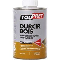 Durcisseur bois pourri Toupret - Bidon 1 l - Blanc