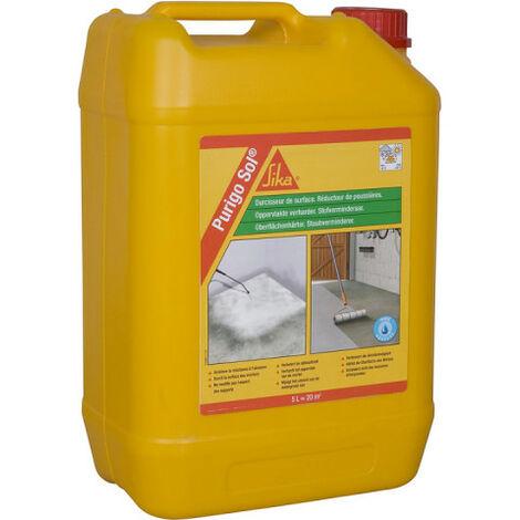 Durcisseur de surface anti-poussière SIKA - Purigo Sol - Incolore - 5L