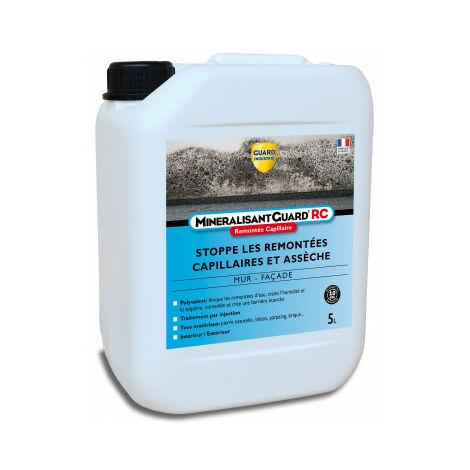 Durcisseur murs humides - Minéralisant Guard® RC 5L - jusqu'à 35m²