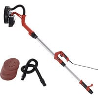 DURHAND Dry Wall & Ceiling Sander 225mm 230V with Extendable Pole 710W