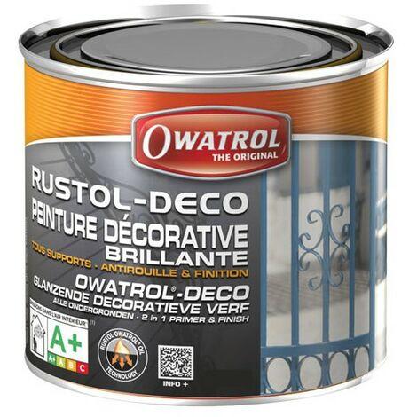 DURIEU RUSTOL DECO ANTIR. 0.75L BLEU O (Vendu par 1)