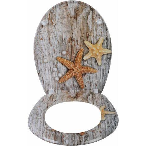 Duroplast Toilettensitz mit Absenkautomatik