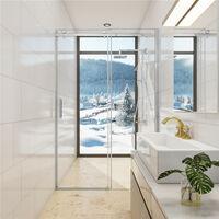 Duschabtrennung 8mm NANO GLASS ,chiebetür Duschkabine Duschwand Dusche Echtglas