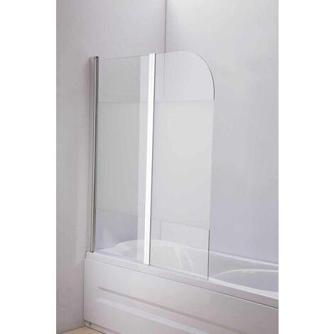 Duschabtrennung Badewanne, Links oder Rechts montierbar