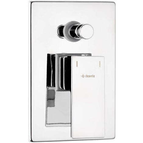 Duscharmatur Unterputz mit Umschalter ohne Duschset Silber ANEMON-30 verchromt