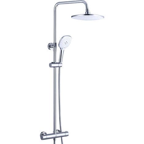 Bekannt Duscharmaturen Set Duschsystem thermostat regendusche Duschset mit IT48