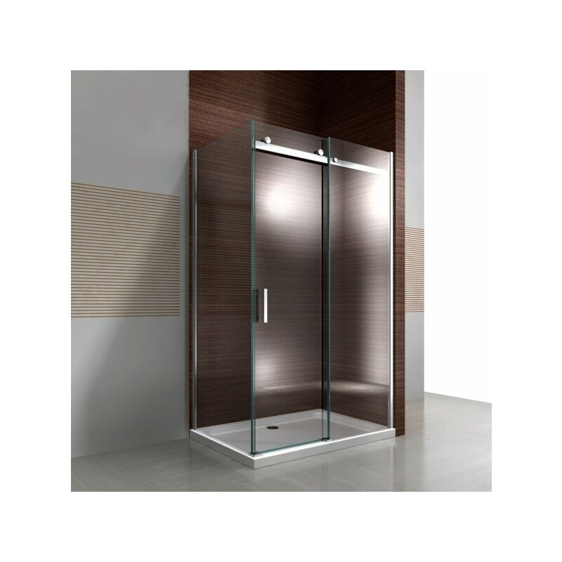 Schiebetür 100 Cm : duschkabine nano 8mm echtglas ex806 schiebet r 80 x 100 ~ Watch28wear.com Haus und Dekorationen
