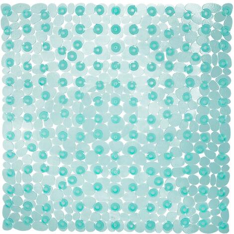 Steine Duschmatte Duscheinlage Antirutschmatte in Steinoptik  53 x 53cm