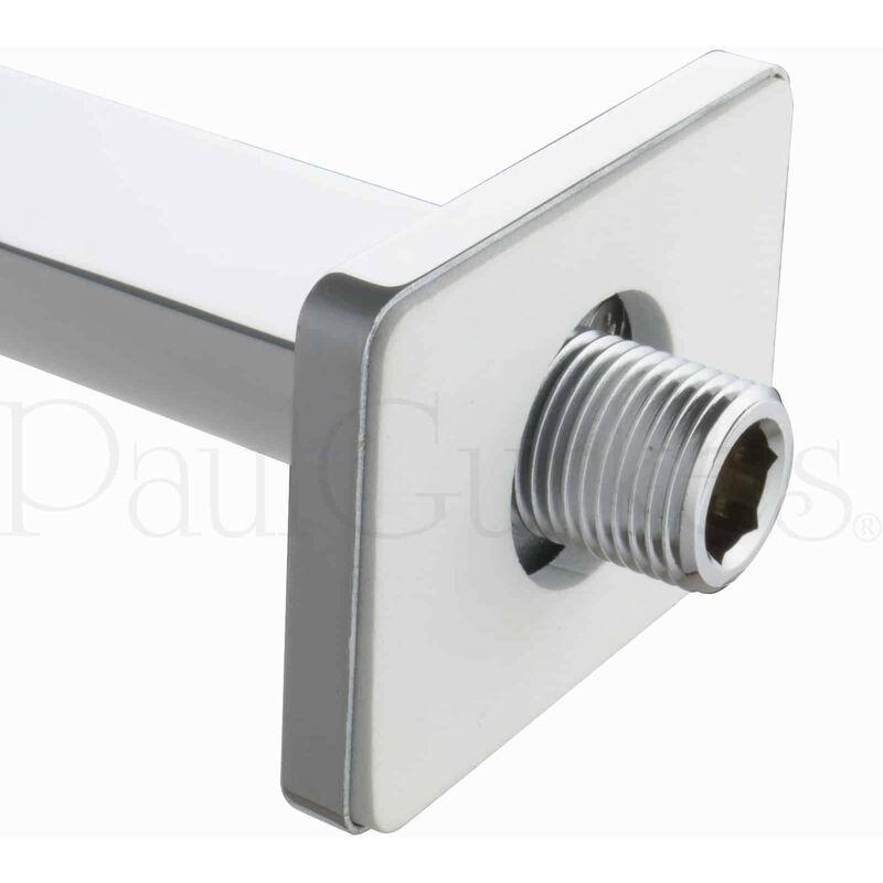 Duschset weiß Chrom Regendusche Duschsystem unterputz Komplett Set PaulGurkes