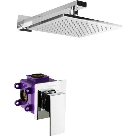 Duschsystem Unterputz Regendusche Ohne Brause Sportdusche Duschset