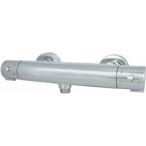 Duschthermostat Chrom Brausethermostat Cool Touch Funktion Thermostat Duscharmatur Mischbatterie Dusche Wasserhahn