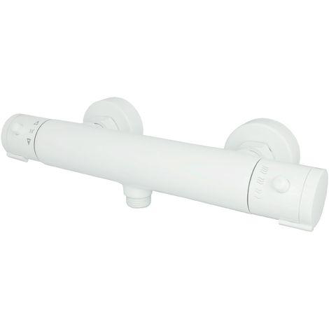Duschthermostat Weiß Brause-Thermostat Armatur Brausethermostat