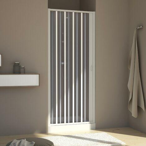 Duschtür in PVC mod. Aura mit seitlicher Öffnung