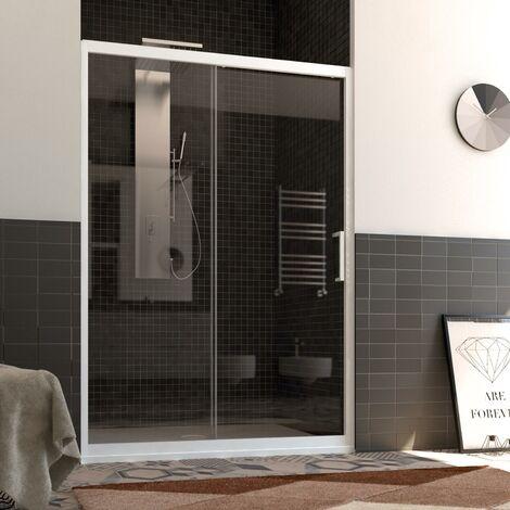 Duschtür in PVC mod. Glax 1 Tür