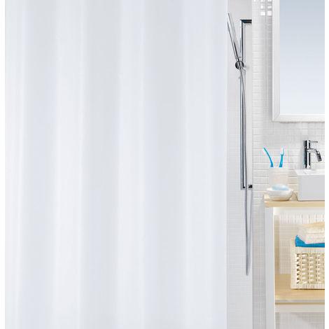 Duschvorhang Bio Weiß 120x200