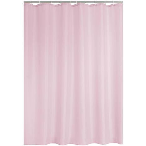 Duschvorhang Textil Madison pastell-rosa 180x200 cm
