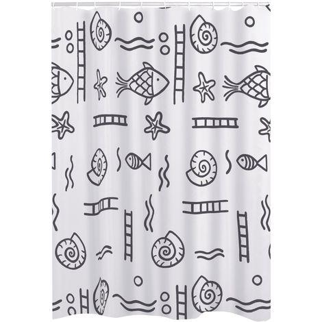 Duschvorhang Textil Neptun