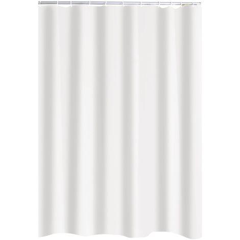 Duschvorhang Textil Uni