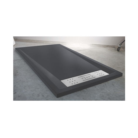 Duschwanne BAÏKAL rechteckig 140x90 cm - Farbe Duschwanne - Grau
