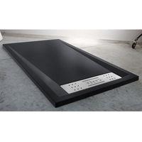 Duschwanne BAÏKAL rechteckig 160x90 cm - Farbe Duschwanne - Schwarz