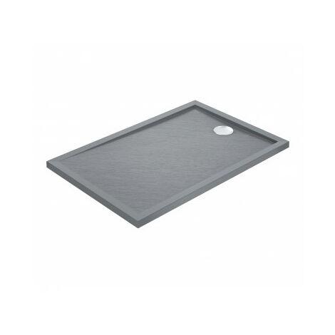 Duschwanne CAPRI Rechteckig 120x80 cm - Farbe Duschwanne - Grau