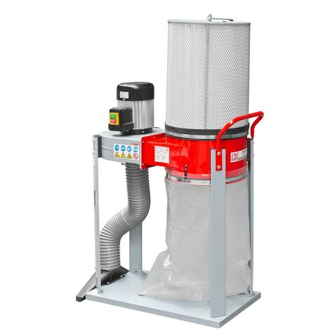 DUST CHIP EXTRACTOR COLLECTOR CHIPPINGS WOOD230V 1000W HOLZMANN ABS1500FF