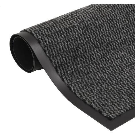 Dust Control Mat Rectangular Tufted 120x180 cm Anthracite