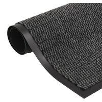 Dust Control Mat Rectangular Tufted 60x90 cm Anthracite