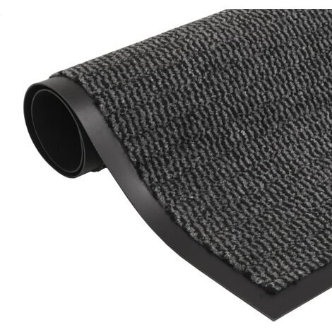 Dust Control Mat Rectangular Tufted 80x120 cm Anthracite