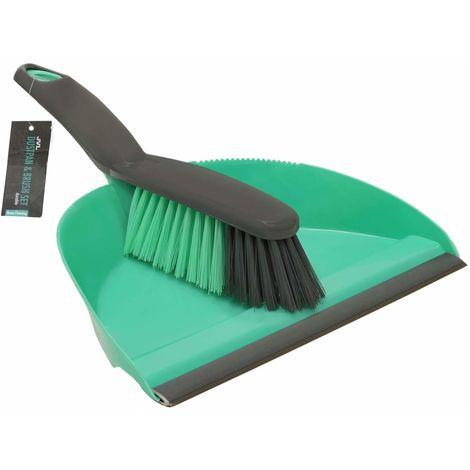 Dustpan and Bristle Brush Set