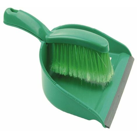 Dustpan and Brush Set Green 102940GN - CX03968