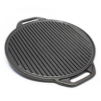 Dutch Oven Grill Platter Pizza Platter reversible Ø41,5cm Cooking Equipment for Camping Outdoor