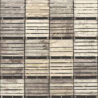 DUTCH WALLCOVERINGS Papel de pared cajones beige 7359-0