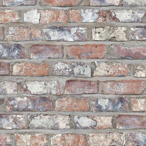 DUTCH WALLCOVERINGS Wallpaper Bricks Multicolour EW3103