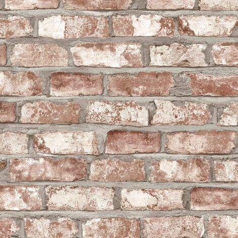 DUTCH WALLCOVERINGS Wallpaper Bricks Red EW3102