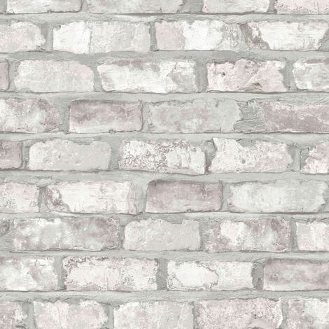 DUTCH WALLCOVERINGS Wallpaper Bricks White EW3104