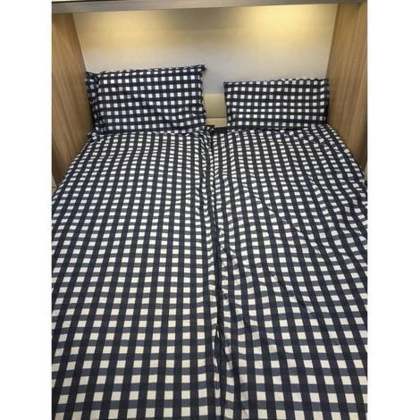 DUVALAY Couchage grand confort - Vichy Bleu Generique