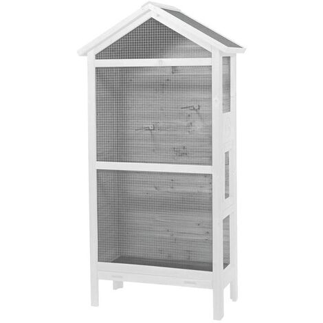 Duvo+ Aviary Asti Cottage 82x40x160 cm Wood