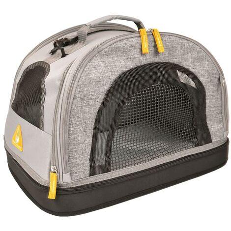 Duvo+ Transportín de mascotas 3 en 1 Promenade gris